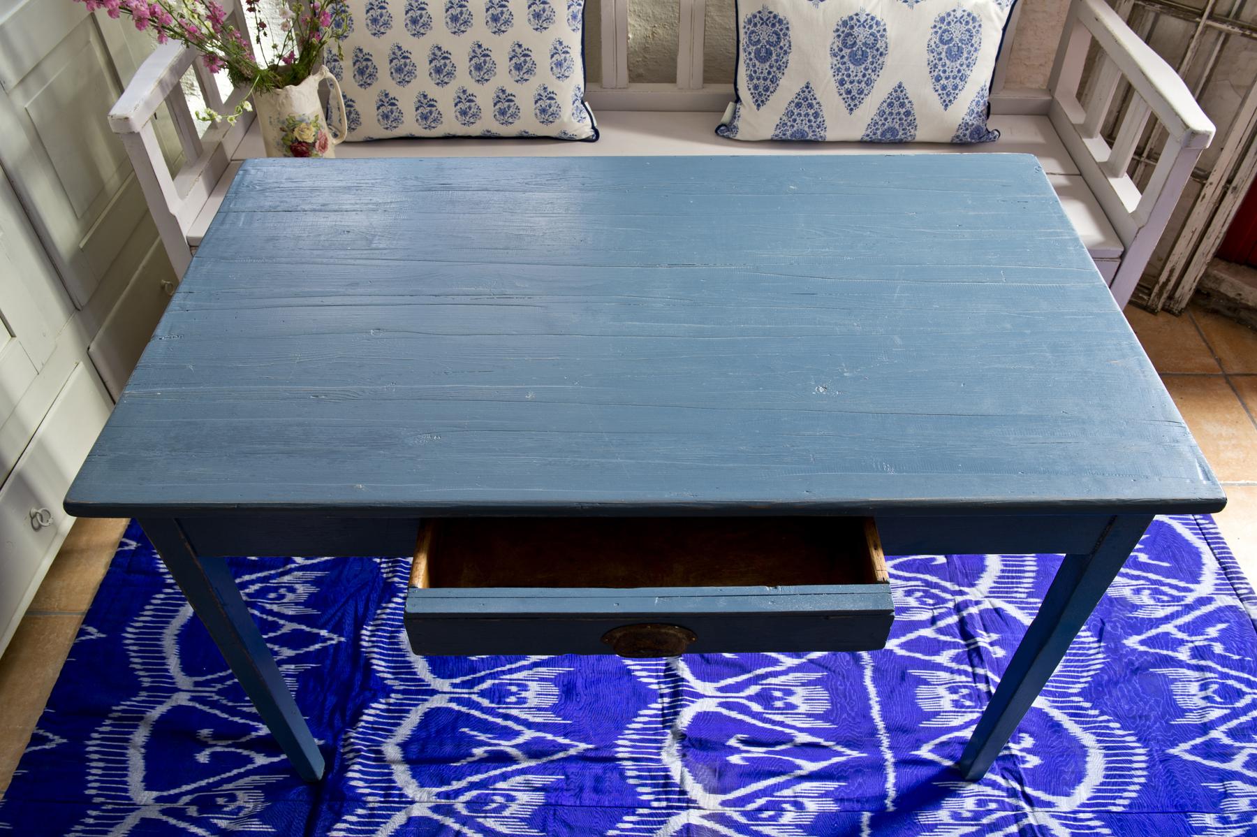 Blatt Koksbord : gammalt koksbord med loda  Butik Lanthandeln Blott bord med loda