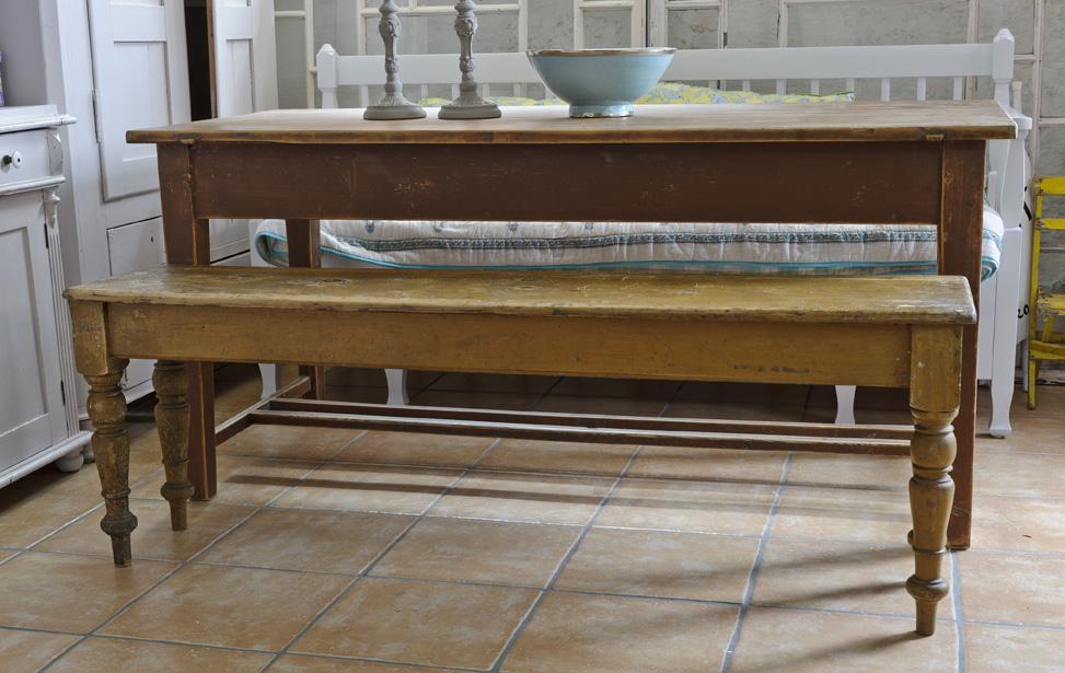 bänk höjd kök ~ butik lanthandeln  underbar gammal bänk sÅld