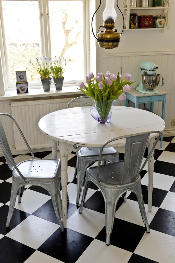 Runt gammalt bord u2013 Möbel för kök, sovrum