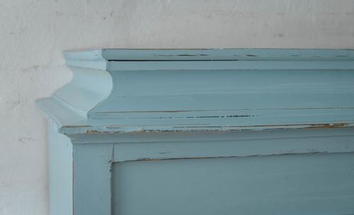 Fint gammmalt skåp i blå/turkost    SÅLT