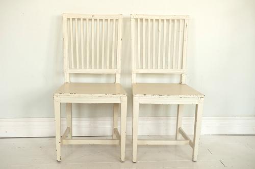 Gustavianska stolar SÅLDA