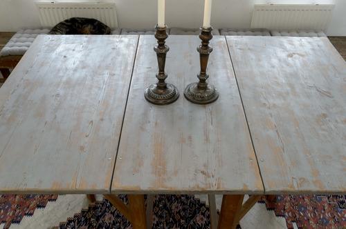 Unikt antikt slagbord   SÅLT