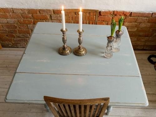 Gammalt klaffbord/avlastningsbord     SÅLD