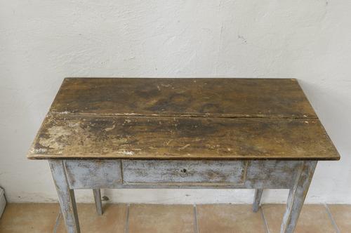 Underbart gammalt avlastningsbord  SÅLT