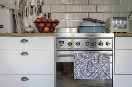 Kitchen Towel Kumari grey